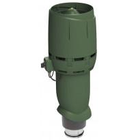 Huippuimuri Vilpe ECo125P/700 Flow, vihreä