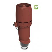 Huippuimuri Vilpe ECo125P/700 Flow, punainen