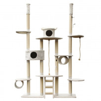 Kissan kiipeilypuu VIPstore Lumilinna, 240-270x65cm