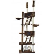 Kissan kiipeilypuu VIPstore Pilvenpiirtäjä, 240-260x73x45cm, eri värejä
