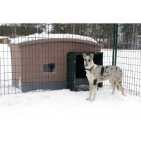 Tunneli koirankopin ja koira-aitauksen välille Jämpti, eri värejä