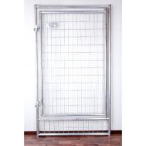 Koiratarhan ovielementti Jämpti Pro, 175x100cm, leveä oviaukko, kuumasinkitty
