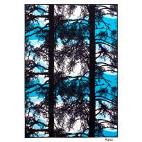 Keskilattiamatto Kelohonka, 160x230cm, aqua