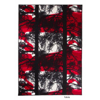 Keskilattiamatto Kelohonka, 160x230cm, cranberry
