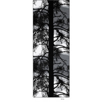 Käytävämatto Kelohonka, 80x230cm, harmaa
