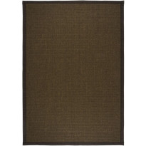 Käytävämatto VM Carpet Esmeralda, 80x300cm, ruskea