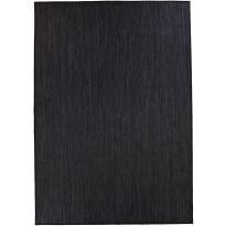 Matto VM Carpet Ropina, mittatilaus, musta