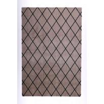 Mallipala VM Carpet Salmiakki, beige-musta - VMC-SAL-N06