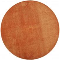Matto VM Carpet Satine, mittatilaus, pyöreä, oranssi