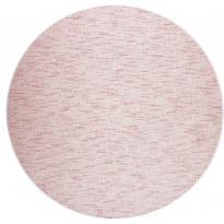 Matto VM Carpet Tuohi, pyöreä, eri kokoja, vaaleanpunainen