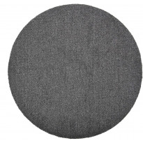 Matto VM Carpet Viita, mittatilaus, pyöreä, musta