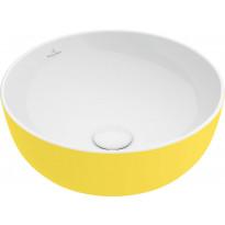 Malja-allas Villeroy & Boch Artis, pyöreä, 430x430x125cm, keltainen
