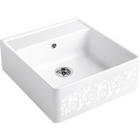 Keittiöallas Villeroy & Boch Butler Sink 60 White Pearl , koristekuvio, CeramicPlus