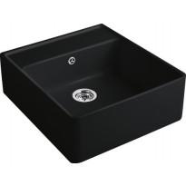 Keittiöallas Villeroy & Boch Butler Sink 60 Ebony , mattamusta, CeramicPlus