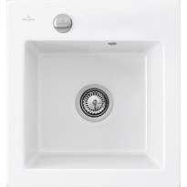 Keittiöallas Villeroy & Boch Subway 45 XS Alpin White, valkoinen, CeramicPlus
