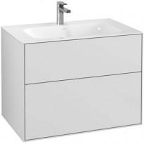 Allaskaappi Villeroy & Boch Finion, 796x591mm, LED-valaistus, valkoinen