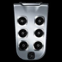 Ulkoporealtaan selkäosa Villeroy & Boch JetPak Pulsator J02, Premium Line ja Comfort Line sarjan altaisiin