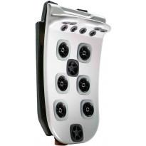 Ulkoporealtaan selkäosa Villeroy & Boch JetPak Neck Blaster J04, Premium Line ja Comfort Line sarjan altaisiin
