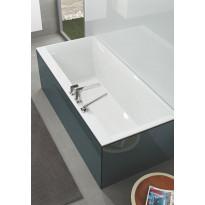 Kylpyamme Villeroy & Boch Squaro Edge 12, 1600x750mm, valkoinen