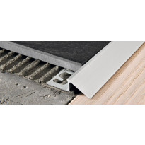 Eritasolista Progress Profiles Proslider, 2,7m, 10mm, anodisoitu hopea