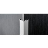 Kulmasuojalista Progress Profiles Proedge, 2,7m, 25mm, anodisoitu hopea