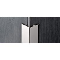 Kulmasuojalista Progress Profiles Proedge, 2,7m, 15mm, kiiltävä rst