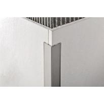 Kulmasuojalista Progress Profiles Proedge, 2,7m, 25mm, harjattu rst
