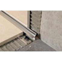 Sisäkulmalista Progress Profiles Prointer, 2,7m, 12,5mm, kiiltävä rst