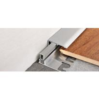 Päätelista Progress Profiles Terminal PIN, 2,7m, 30mm, 10mm, anodisoitu hopea