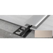Saumalista ja pohjalista Progress Profiles LVT SOL 30P, 2,7m, 4-6mm, titaani