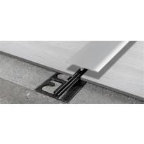 Peitelista Progress Profiles LVT SOL 30P, 2,7m, 4-6mm, anodisoitu hopea