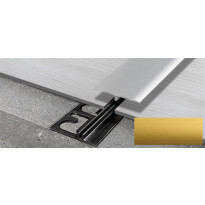 Peitelista Progress Profiles LVT SOL 30P, 2,7m, 4-6mm, anodisoitu kulta