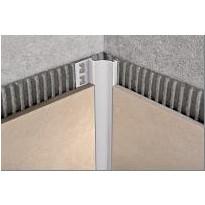 Sisäkulmalista Progress Profiles Proshell ALL, 8mm, anodisoitu alumiini