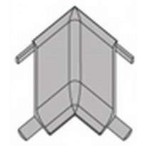 Jalkalistan sisäkulma Progress Profiles Skirting, 60mm, rst