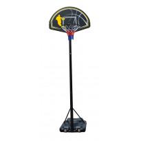 Siirrettävä koripalloteline tukivarrella Vipex Home MD305