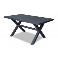 Pöytä Vipex Home A006, 160 x 90 cm, musta