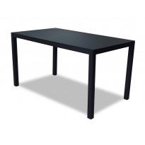 Pöytä Vipex Home A007, 140 x 80 cm, musta
