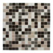 Lasimosaiikki Ardesia, 32,7x32,7, seinä-/lattialaatta