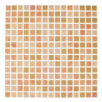 Lasimosaiikki Spring, 32,7x32,7, seinä-/lattialaatta