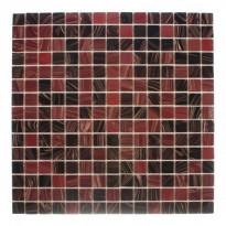 Lasimosaiikki Salsa, 32,7x32,7, seinä-/lattialaatta