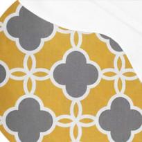 Pehmuste 56B keltainen/harmaa (2010-356B)