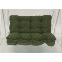 Keinun pehmustesarja Varax, Duo, 2-istuttava, kangas 23A, vihreä