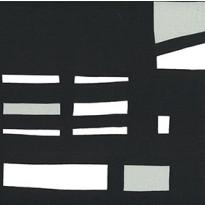 Pehmuste 75A mustavalkoinen, katos harmaa