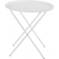 Pöytä Varax Tuuli pyöreä, valkoinen