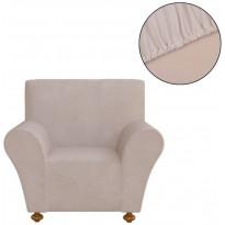 Venyvä sohvan suojapäällinen polyesteri beige