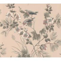 Tapetti 1838 Wallcoverings Rosemore, vaaleanpunainen, 0,52x10,05m