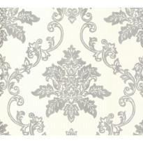 Tapetti 1838 Wallcoverings Hampton, beige/hopea, 0,52x10,05m