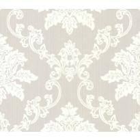 Tapetti 1838 Wallcoverings Hampton, harmaa/valkoinen, 0,52x10,05m