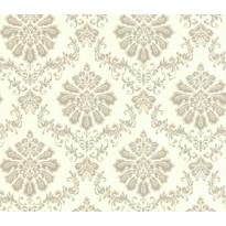 Tapetti 1838 Wallcoverings Broughton, valkoinen/harmaa, 0,52x10,05m