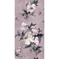 Tapetti 1838 Wallcoverings Madama Butterfly, vaaleanpunainen, 0,52x10,05m
